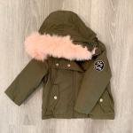 Steve Madden Baby Girl Coat 12 M STEVE MADDEN Baby Girl Winter Coat Olive Green ...