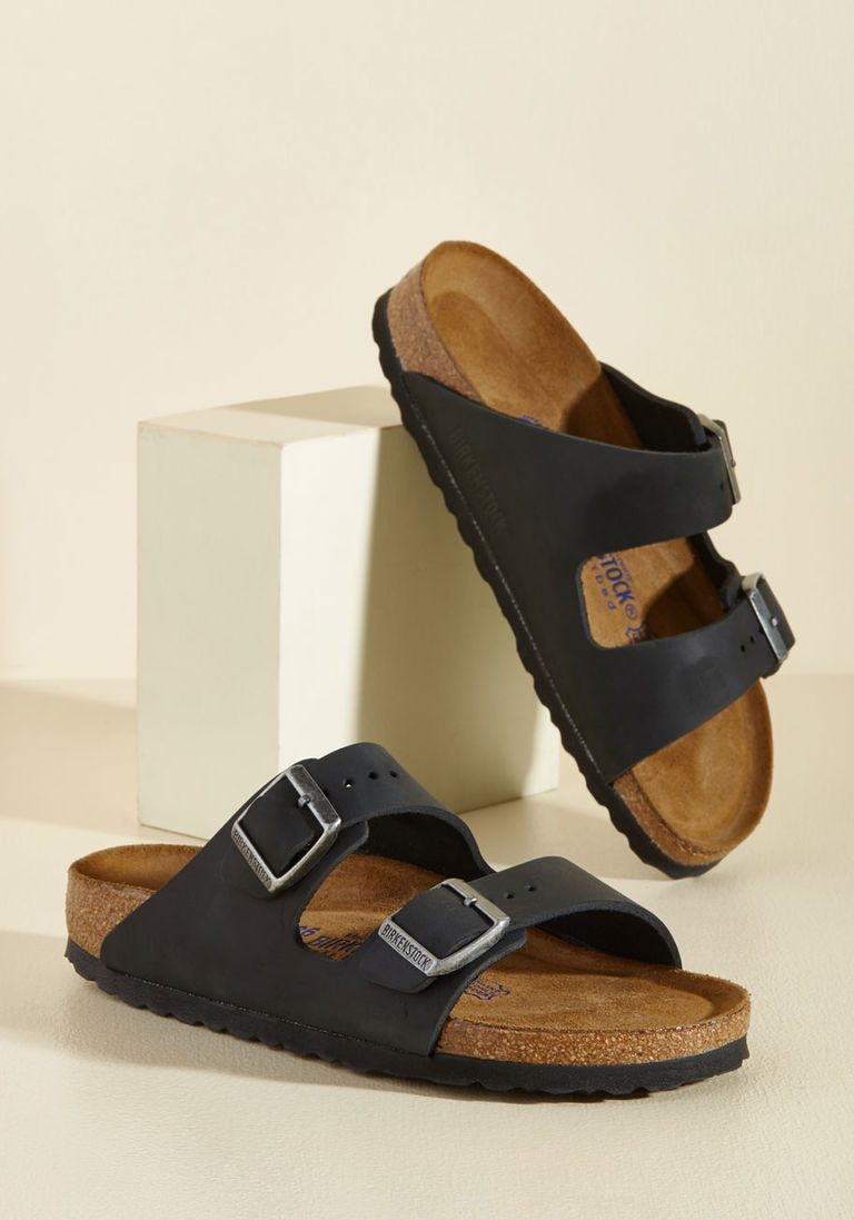 Strappy Camper Leather Sandal – Narrow in 41