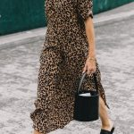 Street Style Trend: Animal Print Dresses (Le Fashion)