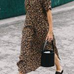 Street Style Trend: Animal Print Dresses (Le Fashion)