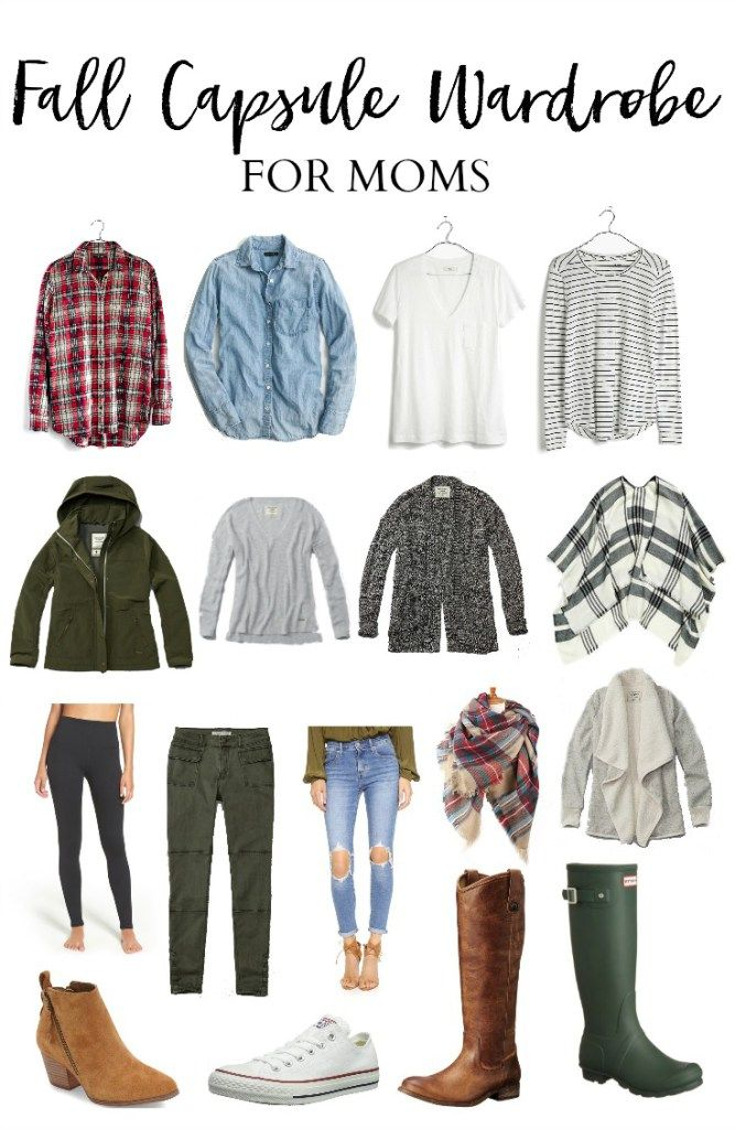 Style // Fall Capsule Wardrobe for Moms