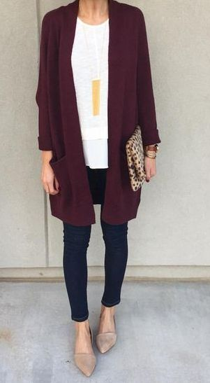 Style Spacez: 14 Super Cheap Cardigan Fall Outfit Ideas You Must Try