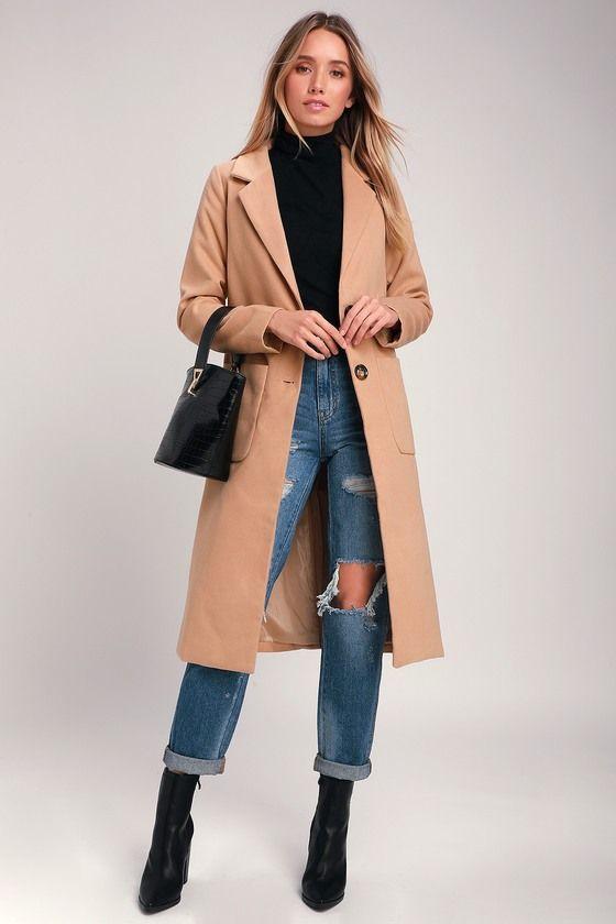 Style Squad Tan Coat