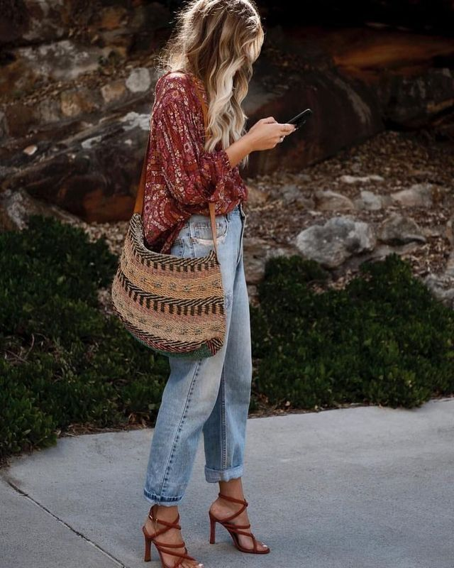 Stylish & Affordable Women's Bohemian Outfit Inspiration | Trending Boho Style…