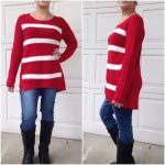 Stylish tunic sweaters Great holiday sweater......Please do not purchase this li...