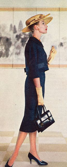 Suits for Spring 1958