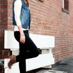 Super How To Wear Denim Vest Winter Outfit Ideas Ideas