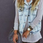 Super how to wear denim vest summer outfit ideas 19 ideas