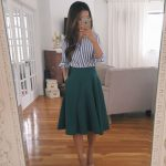 Swingy Skirt Styled 2 Ways + Recent Reviews (Extra Petite)