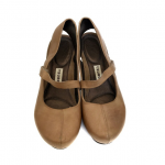 TSUBO Tan Acrea 8019 Leather Mary Jane Pumps These are TSUBO Womens Tan Acrea 80...