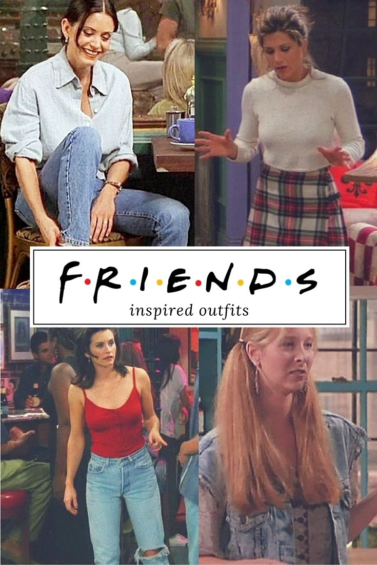 TV SERIES FRIENDS – Inspired outfits                                            …