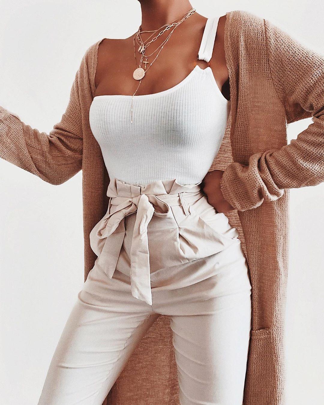 "Talia on Instagram: ""Bodysuit + Trousers via Windsor Store #windsorstore ad. B…"
