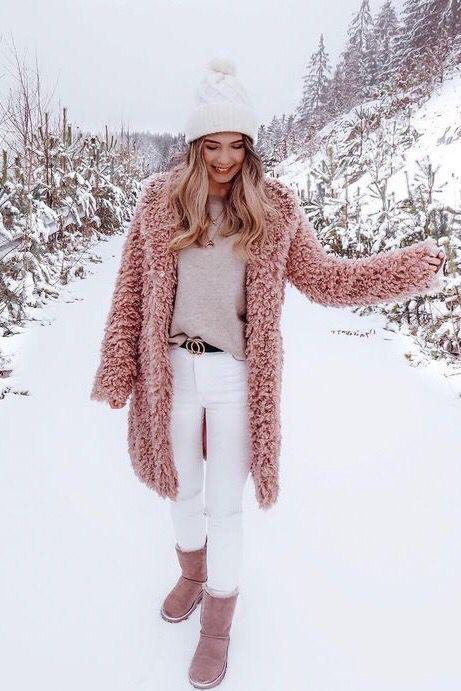 Teddy Bear Coat Jacket Faux Fur