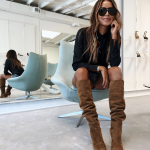 Thank you to Julie Williams for introducing our Eva slouch boots in buttery toba...