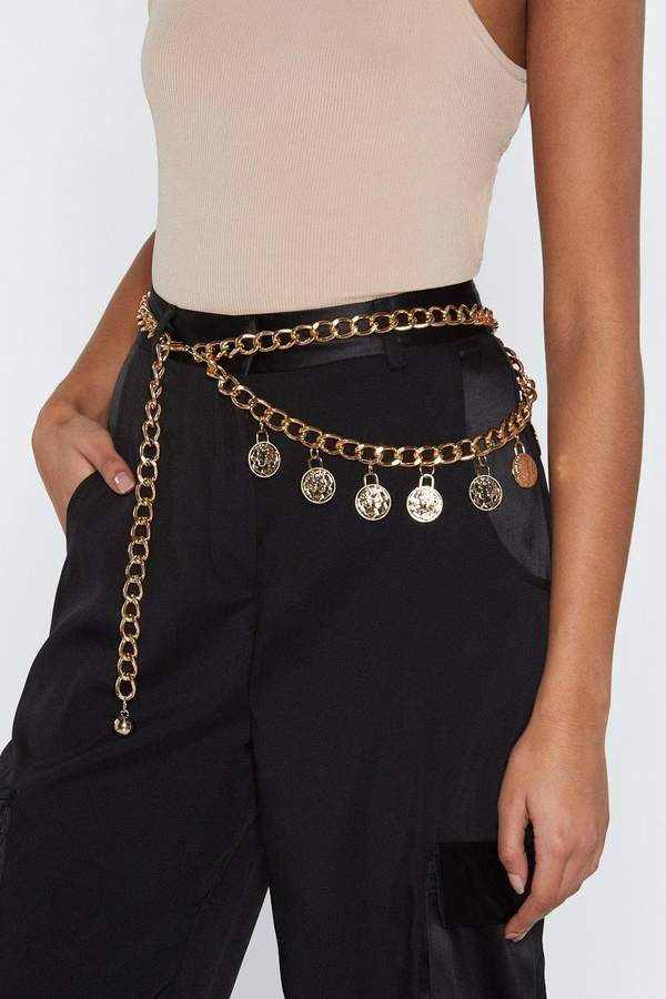 That Makes Cent Coin Chain Belt | Shop Clothes at Nasty Gal!