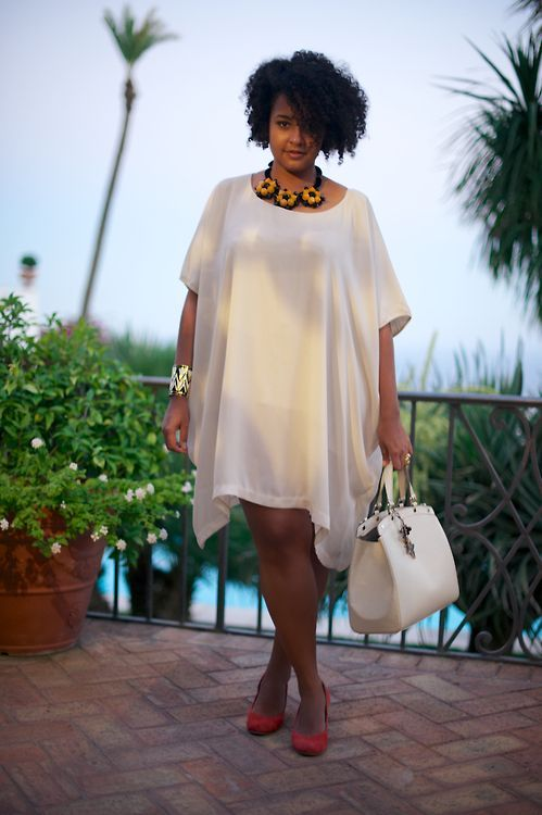 The Elegant White In Plus Size