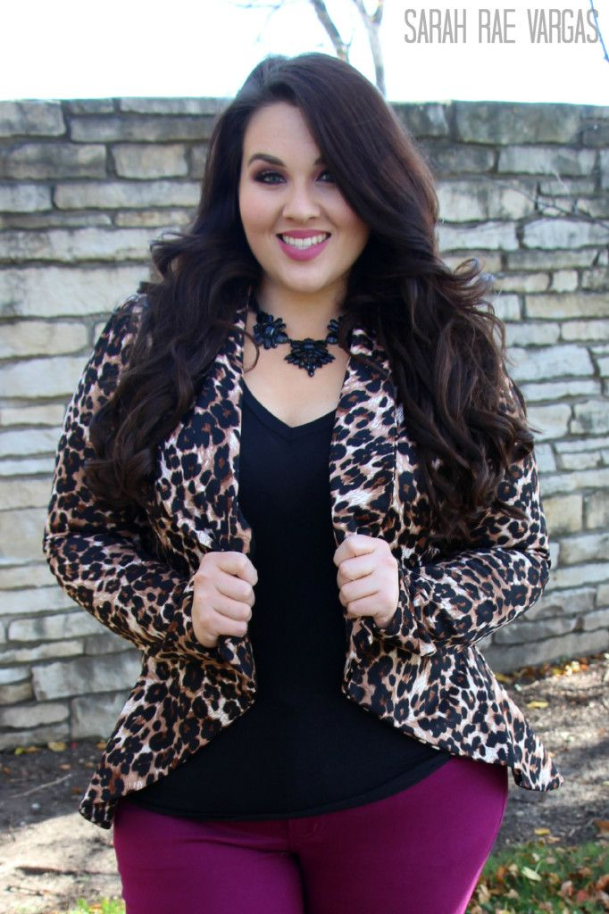 The Leopard Lookbook | Plus Size Fashion | This outfit I love it but probably wo…