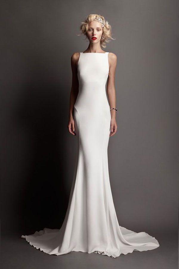 The Most Flattering Sheath Wedding Dresses