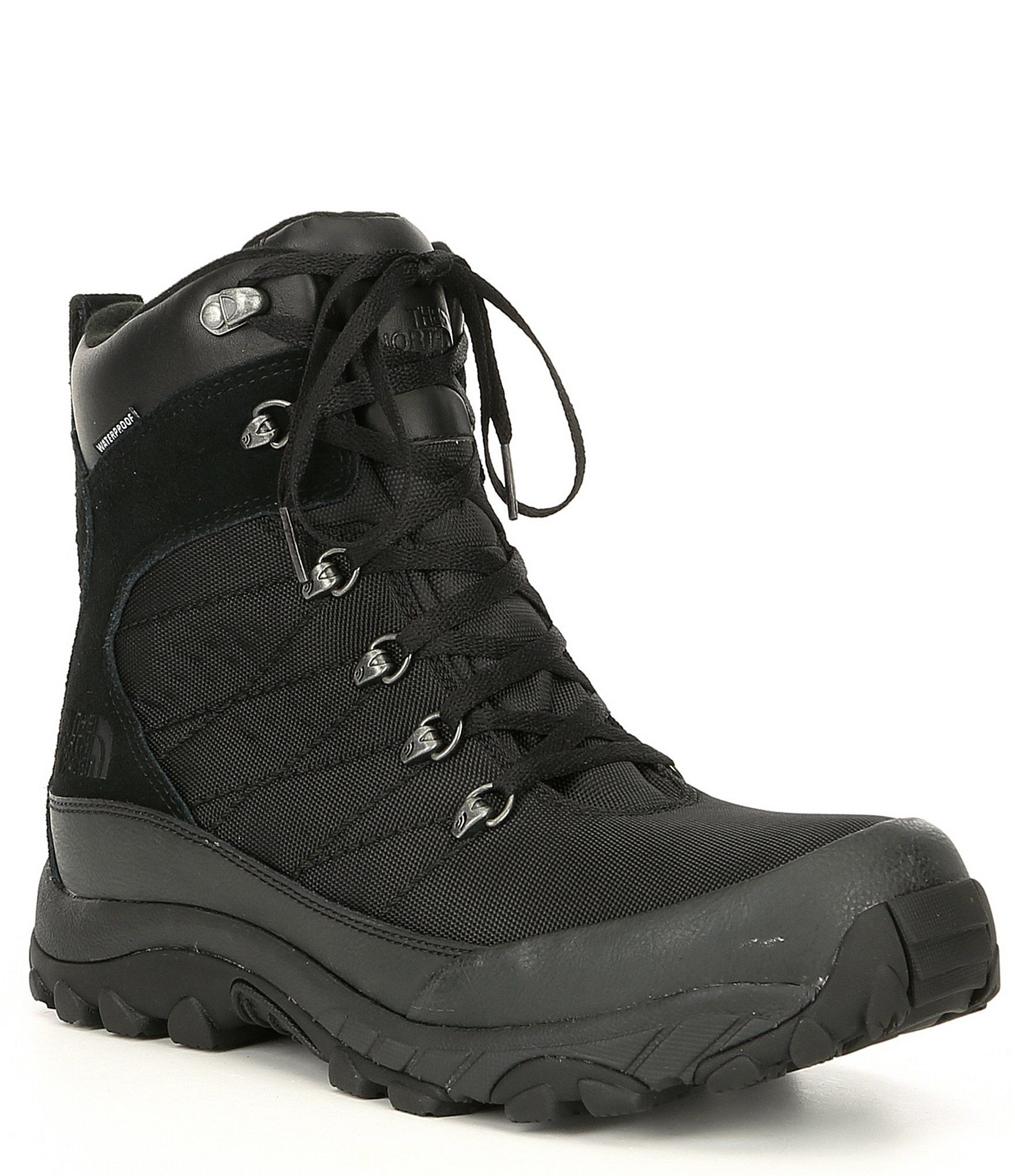 The North Face Men's Chilkat Nylon Waterproof Winter Boots – TNF Black 7.5M