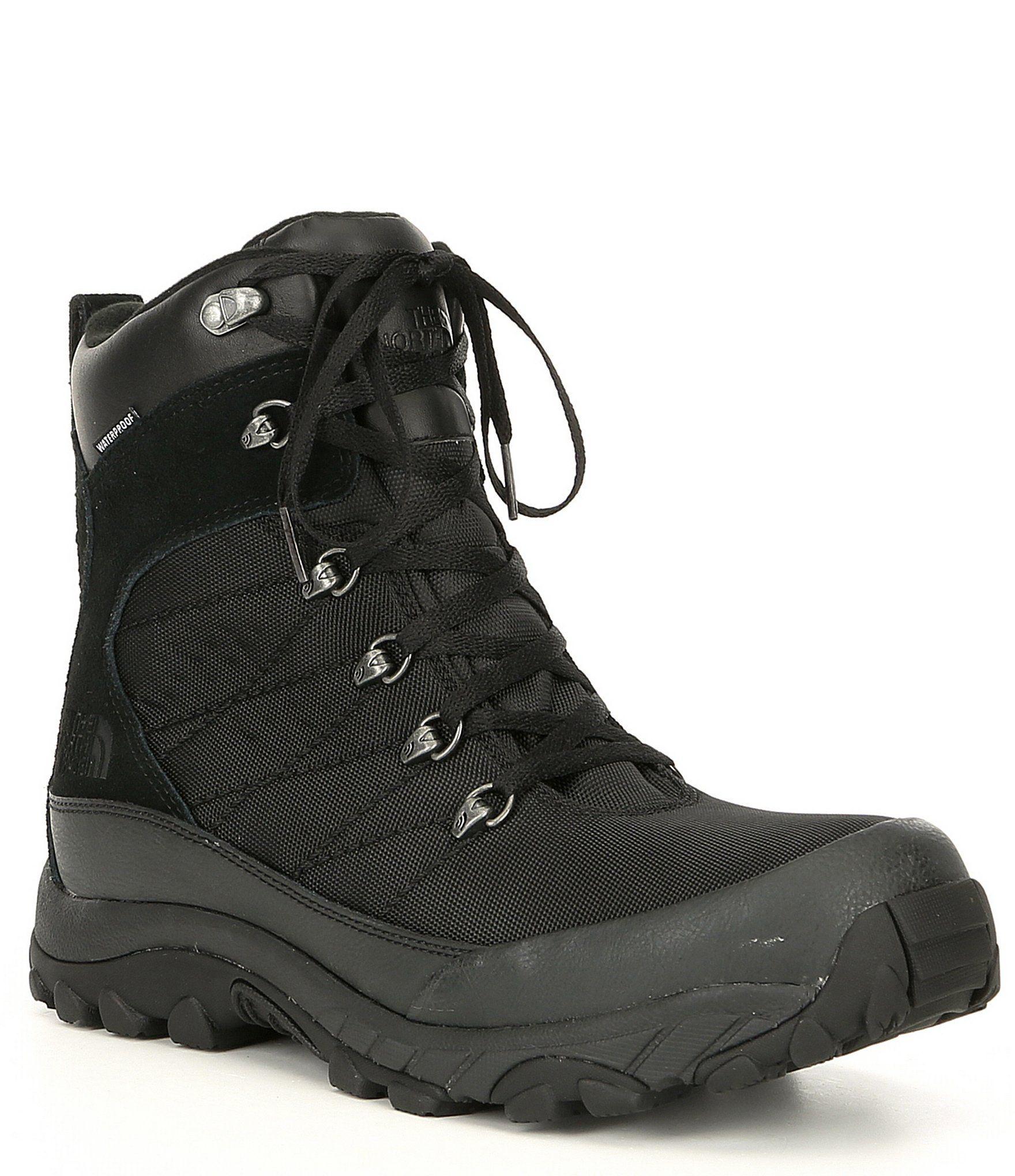 The North Face Men's Chilkat Nylon Waterproof Winter Boots – TNF Black 7.5M