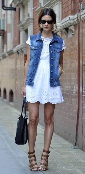 The Ultimate Guide to wearing a denim vest