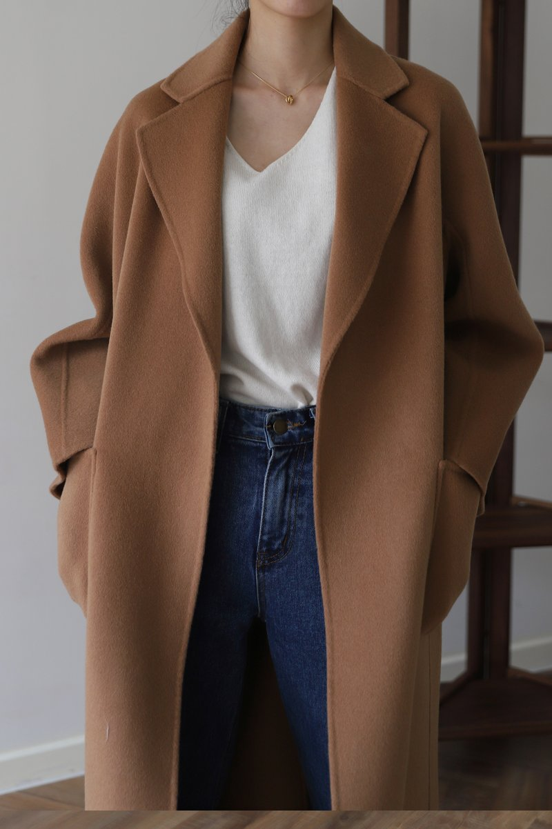 The classic coat camel