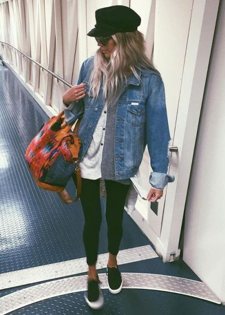 These Airport Outfit Ideas Will Have You Looking Like A Celeb In No Time