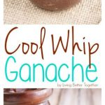 This Cool Whip Ganache is just as creamy, thick, and rich as a traditional ganac...