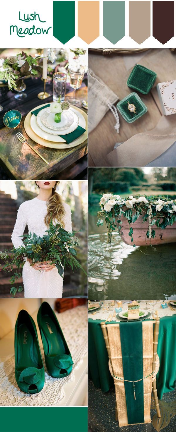 Top 10 Fall Wedding Colors from Pantone for 2016