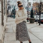 Top outfit street style leopard print 2019
