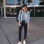 Travel outfit ideas summer casual denim jackets 50+ best Ideas