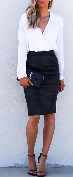 Trending Summmer Business Casual Outfits | street style. ♥ Fashion inspiration…