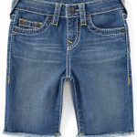 True Religion Little Boys 2T-7 Geno Cut-Off Denim Shorts - Rinse Wash 2T