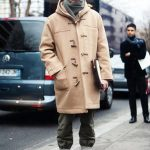 Try teaming a camel duffel coat with charcoal chinos for drinks after work. A pa...