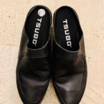 Tsubo Black leather wedge clogs size 7 Gorgeous black Tsubo wedge clogs size 7. ...