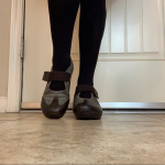 Tsubo wedge comfort shoes leather/fabric size 10 Very comfortable and well made....
