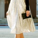 Tulle Midi Skirt for the Holidays fashion gold skirt cocktail sequins holidays p...