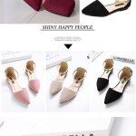 US$21.86 + Free shipping. Size(US): 5~11. Color: Black, Beige, Pink. Upper Mater...