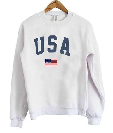 USA Flag Sweatshirt FD01