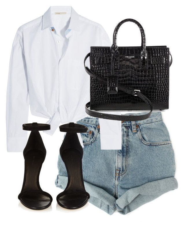 """Untitled #4159"" by theeuropeancloset on Polyvore featuring Levi's, Maje, Isabel…"