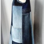 Upcycled jeans dress 100% handmade and unique, made in Croatia Every piece is on...