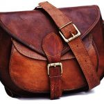 Urban Leather Crossbody Bags for Women Saddle Bag Purse Handbags Gift for Young Women & Teen Girls | Genuine Leather Satchel Shoulder Bags Small Size 26 cms