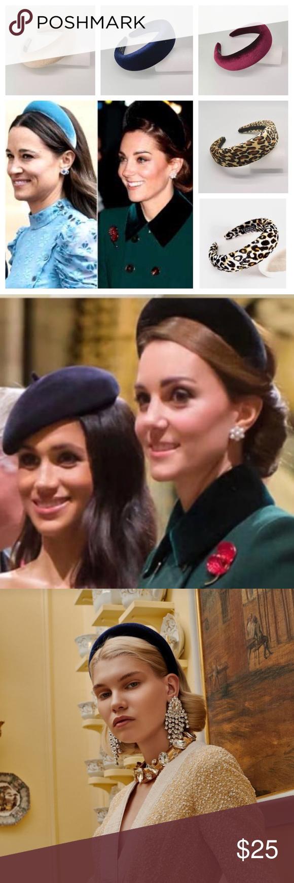 Velvet Flocked Padded Headbands Velvet Flocked Padded Headbands Luxurious velvet…