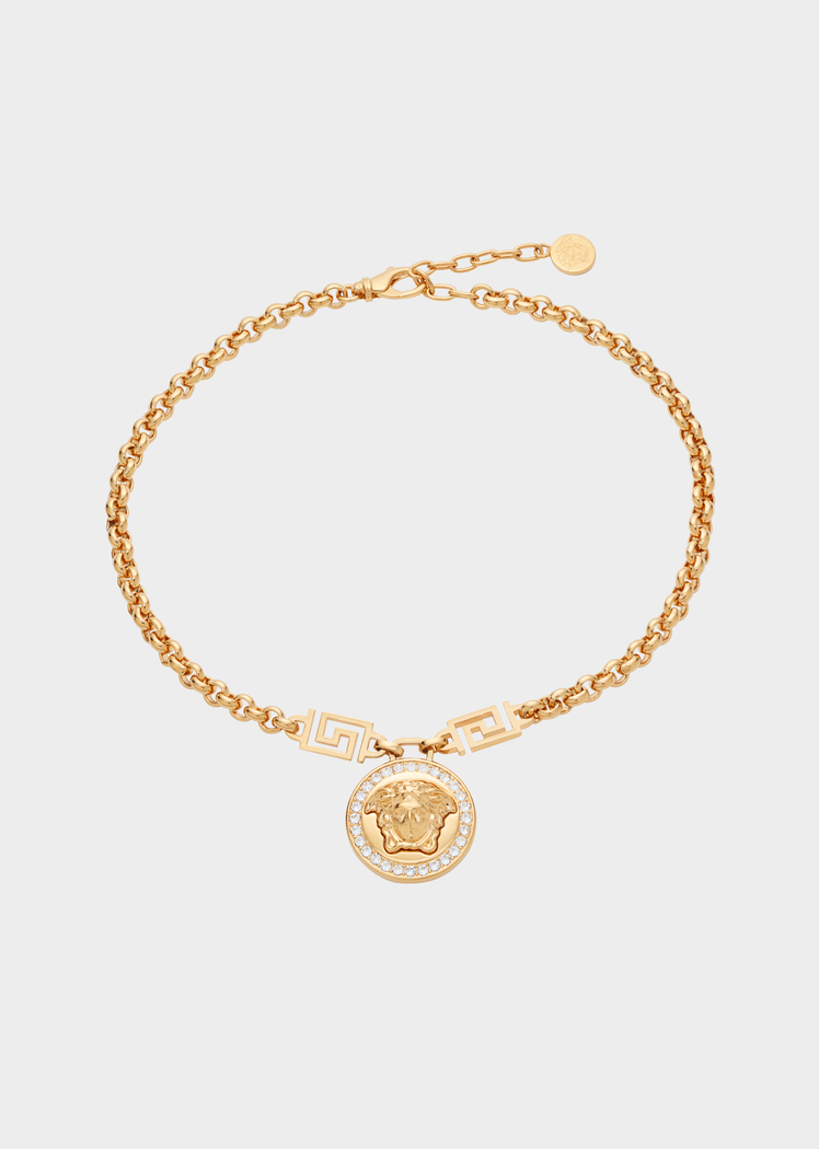 Versace Icon Medusa Necklace for Women | US Online Store