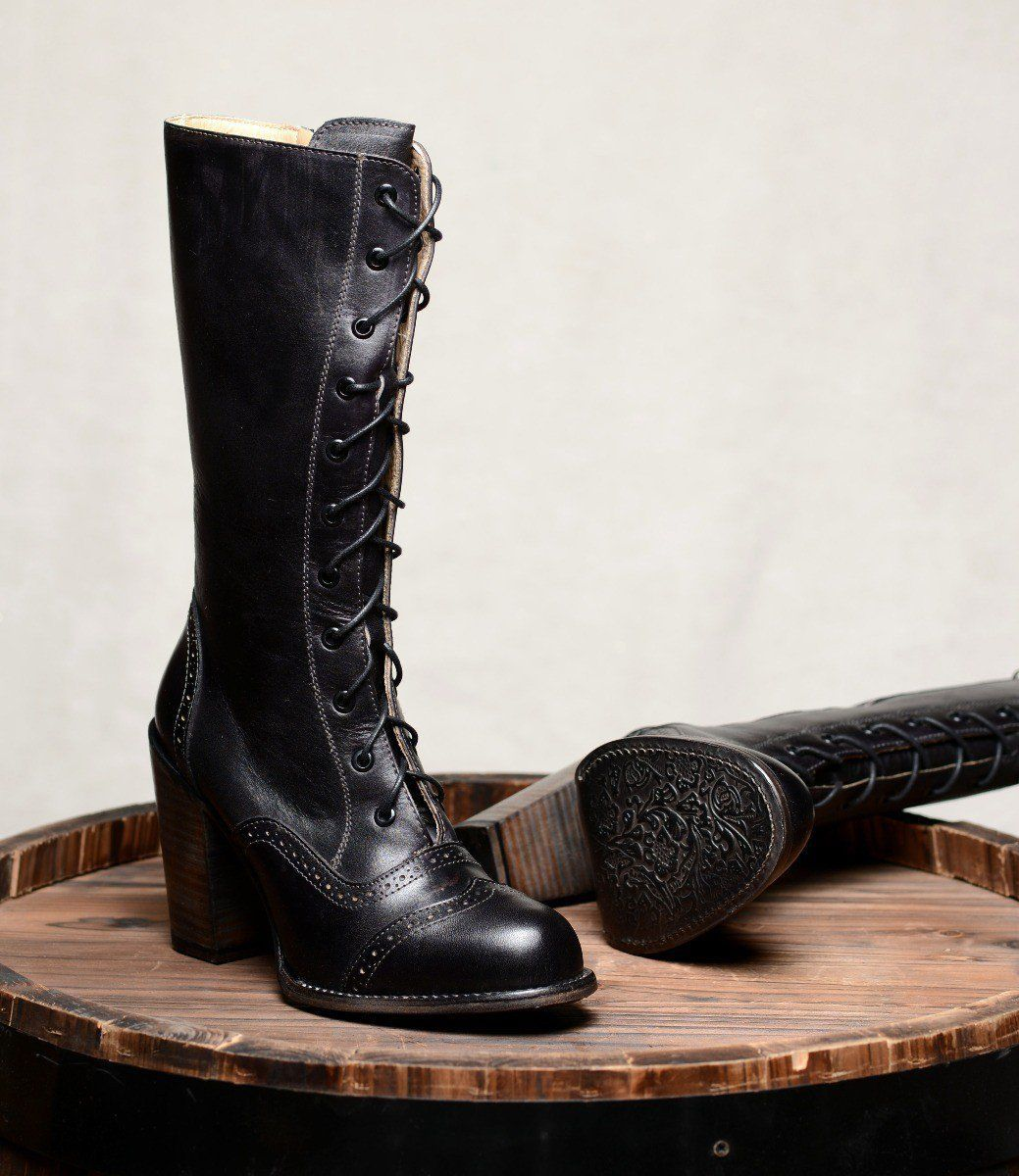 Victorian Boots | Traditional Wedding Boots | Steampunk | Rustic | Country | Wes…