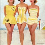 Vintage 1950s Women's Fashion | Beautiful Women's Swimwear Fashion in the 1950's...