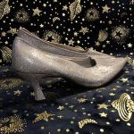Vintage Holographic Glitter Heels Vintage Coloriffic holographic rainbow fish sc...