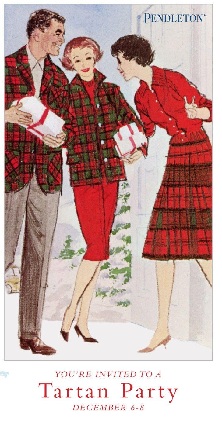 Vintage Pendleton Tartan Party. I have the 49er jacket! Though mine isn't vintag…