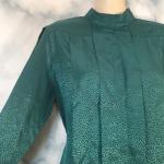 Vintage Suburban petites emerald green blouse 8 Vintage suburban petites green E...