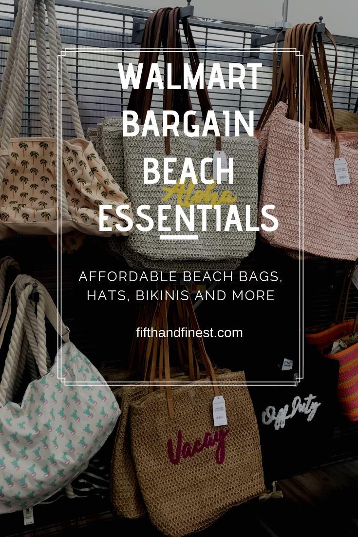 Walmart bargain beach essentials